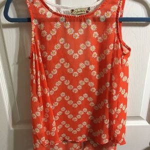 Other - Belk brand Vibrant Orange 🍊 summer top